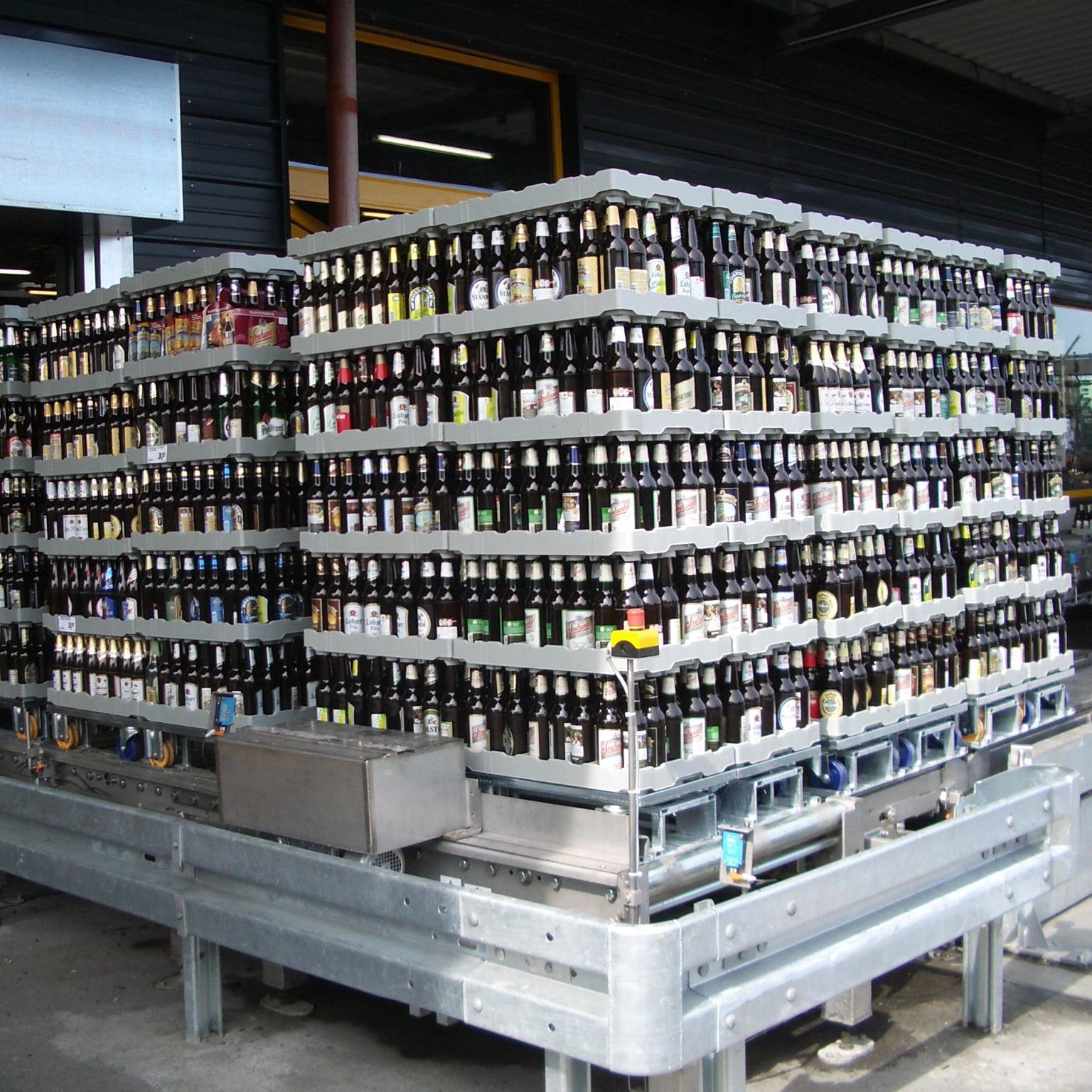 Einheitliche Kisten und Mehrwegtrays für Getränkebranche definiert ...